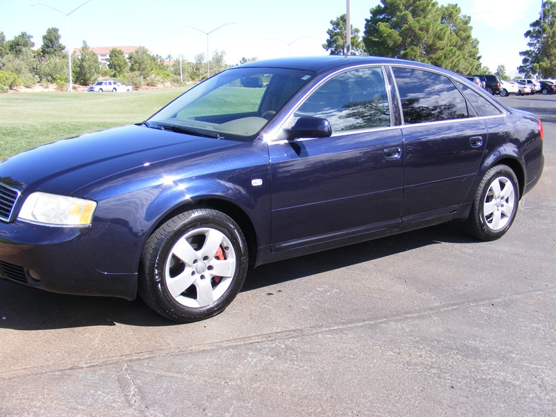 audi a 6 quattro 2002 for sale by owner in las vegas nv 89117. Black Bedroom Furniture Sets. Home Design Ideas