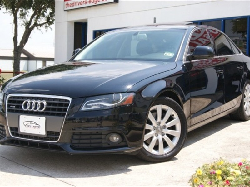 audi a4 2009 for sale by owner in houston tx 77299. Black Bedroom Furniture Sets. Home Design Ideas