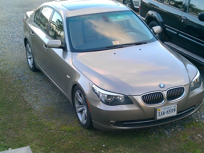 bmw 528i 2009 for sale by owner in richmond va 23234. Black Bedroom Furniture Sets. Home Design Ideas