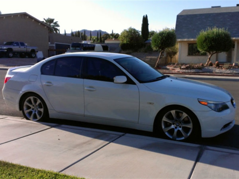 bmw 550i 2005 for sale by owner in phoenix az 85054. Black Bedroom Furniture Sets. Home Design Ideas
