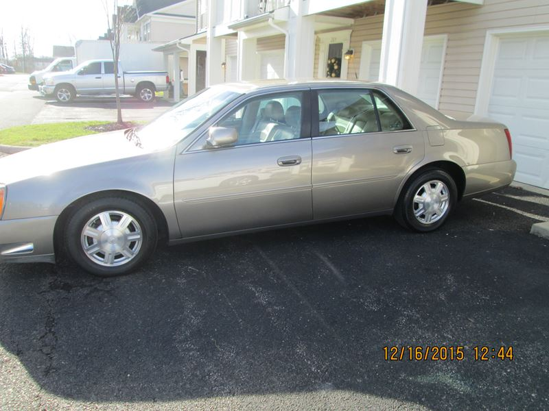 cadillac deville 2003 for sale by owner in blacklick oh. Black Bedroom Furniture Sets. Home Design Ideas
