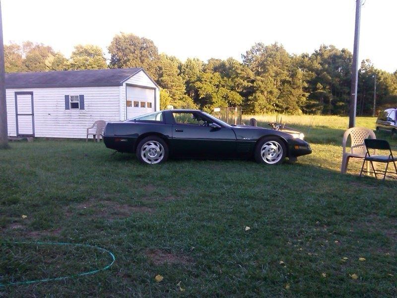 chevrolet corvette 1994 for sale by owner in saluda va 23149. Black Bedroom Furniture Sets. Home Design Ideas