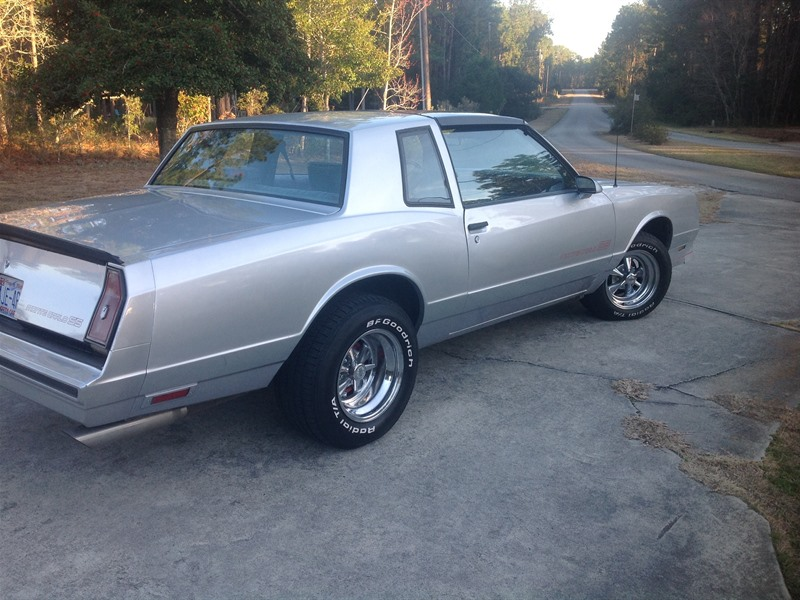 chevrolet monte carlo ss 1986 sale by owner in southport nc 28461. Black Bedroom Furniture Sets. Home Design Ideas