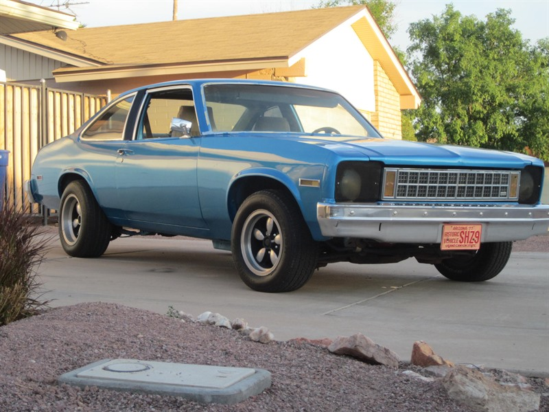 chevrolet nova 1977 for sale by owner in chandler az 85286. Black Bedroom Furniture Sets. Home Design Ideas