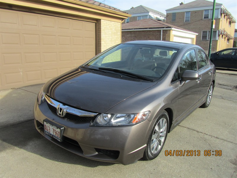 honda civic 2009 for sale by owner in chicago il 60639. Black Bedroom Furniture Sets. Home Design Ideas