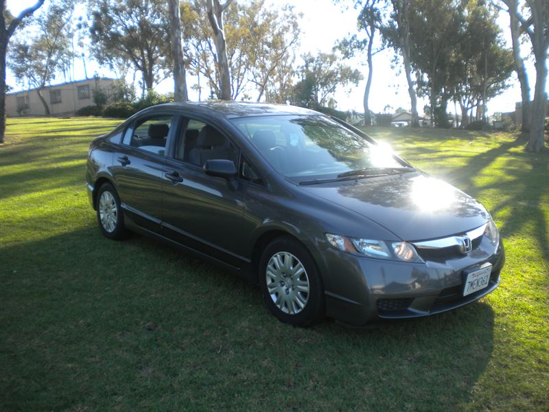 honda civic 2009 for sale by owner in san diego ca 92199. Black Bedroom Furniture Sets. Home Design Ideas