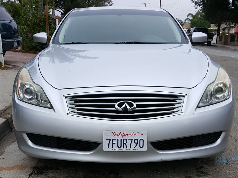 infiniti g37 coupe 2008 for sale by owner in santa paula. Black Bedroom Furniture Sets. Home Design Ideas