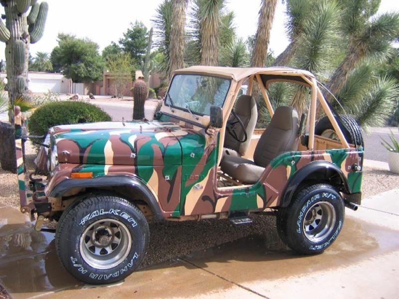 jeep c j 1973 for sale by owner in phoenix az 85028. Black Bedroom Furniture Sets. Home Design Ideas