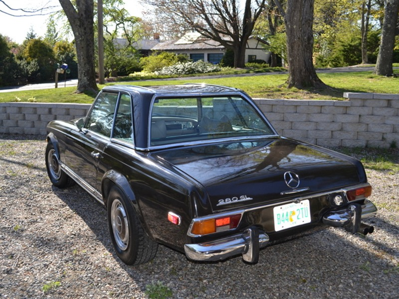 Mercedes benz 280sl roadster 1970 by owner in harwinton for Mercedes benz used cars for sale by owner
