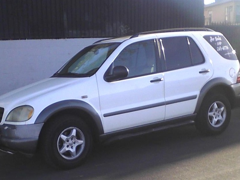Mercedes benz ml 350 1998 for sale by owner in los for Mercedes benz parts los angeles