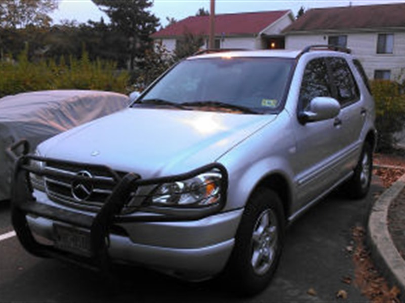 Mercedes benz ml 320 2001 for sale by owner in for Mercedes benz used nj