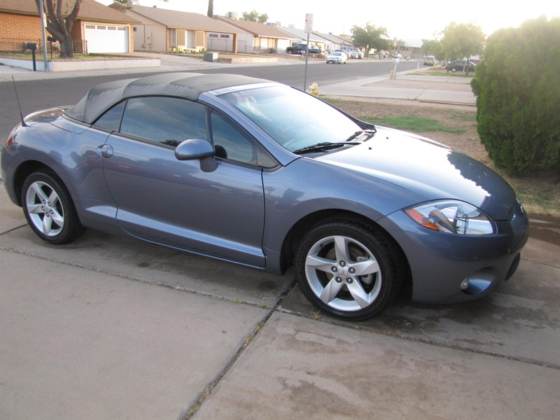 mitsubishi eclipse spyder 2007 sale by owner in glendale. Black Bedroom Furniture Sets. Home Design Ideas
