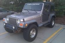 2000 Jeep Wrangler Sport for sale by owner in INDIANAPOLIS