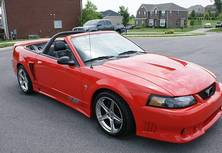 2001 Ford MUSTANG SALEEN for sale by owner in Jacksonville