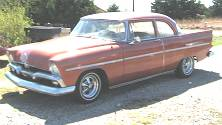 1956 Plymouth savoy 2 door for sale by owner in BLANCHARD