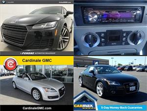 Used Audi TTs for sale