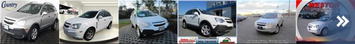 Used Chevrolet Captivas for sale