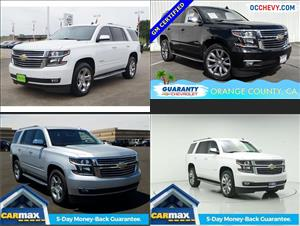 Used Chevrolet Tahoes for sale