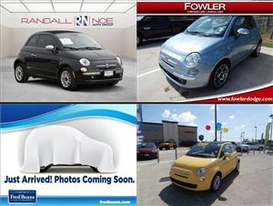 Used Fiat 500cs for sale