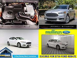 Used Ford Fusion Energis for sale