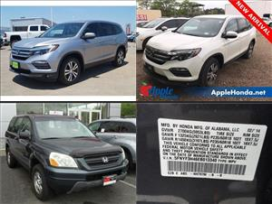 Used Honda Pilots for sale