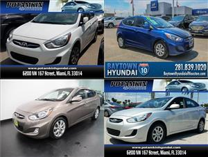 Used Hyundai Accents for sale