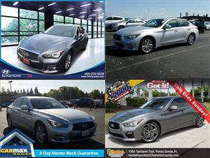 Used Infiniti Q50s for sale