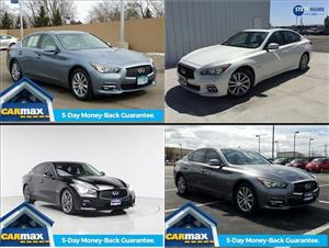 Used Infiniti Q50 Hybrids for sale