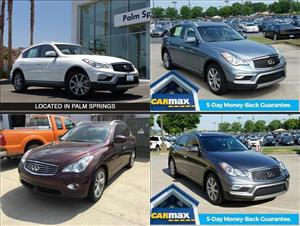 Used Infiniti QX50s for sale