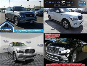 Used Infiniti QX80s for sale