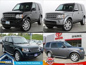Used Land Rover LR4s for sale