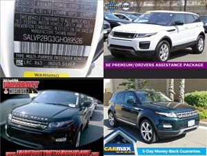 Used Land Rover Range Rover Evoques for sale