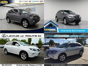 Used Lexus RX 350s for sale