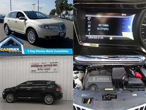 Used Lincoln MKXs for sale