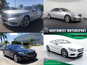 Used Mercedes-Benz S-Classs for sale