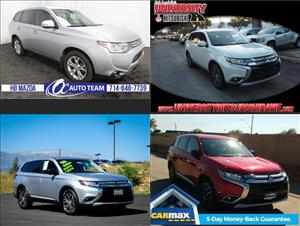 Used Mitsubishi Outlanders for sale