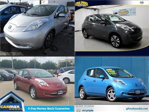 Used Nissan Leafs for sale