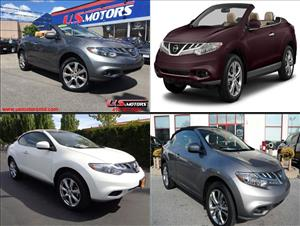 Used Nissan Murano CrossCabriolets for sale