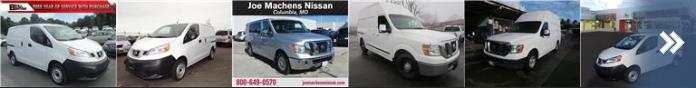 Used Nissan NVs for sale