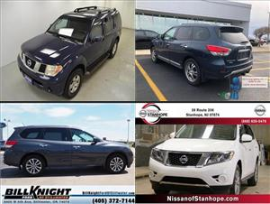 Used Nissan Pathfinders for sale
