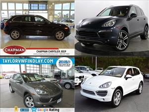 Used Porsche Cayennes for sale