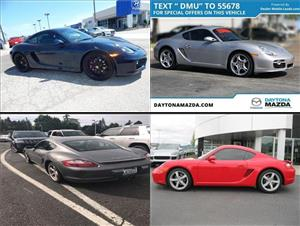 Used Porsche Caymans for sale