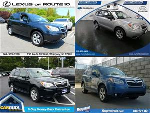 Used Subaru Foresters for sale