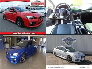Used Subaru WRXs for sale