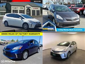 Used Toyota Prius Vs for sale