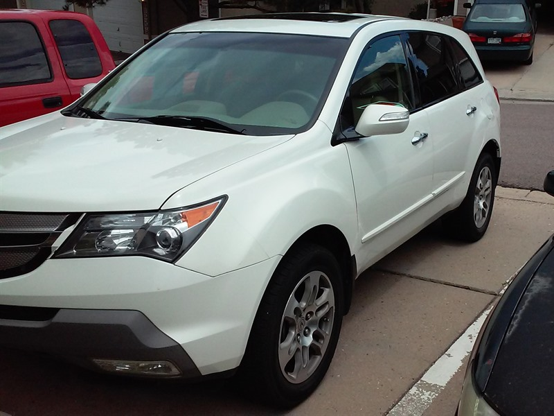 2008 acura mdx for sale by owner in colorado springs co 80918. Black Bedroom Furniture Sets. Home Design Ideas