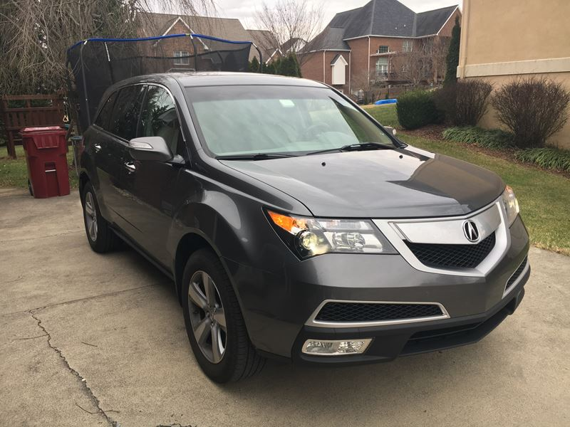 used 2012 acura mdx private car sale in johnson city tn 37614. Black Bedroom Furniture Sets. Home Design Ideas