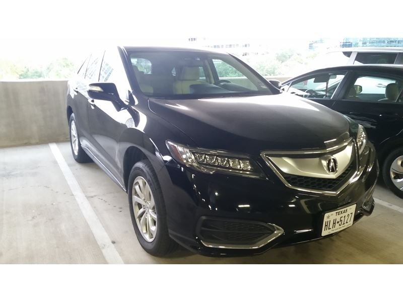 used 2016 acura rdx for sale by owner in houston tx 77299. Black Bedroom Furniture Sets. Home Design Ideas