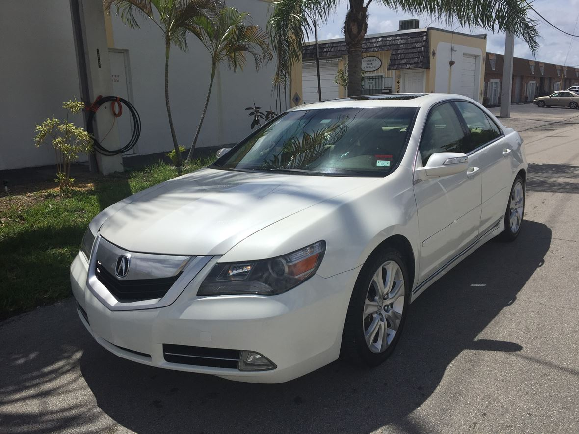 2009 acura rl for sale by owner in fort lauderdale fl 33359. Black Bedroom Furniture Sets. Home Design Ideas