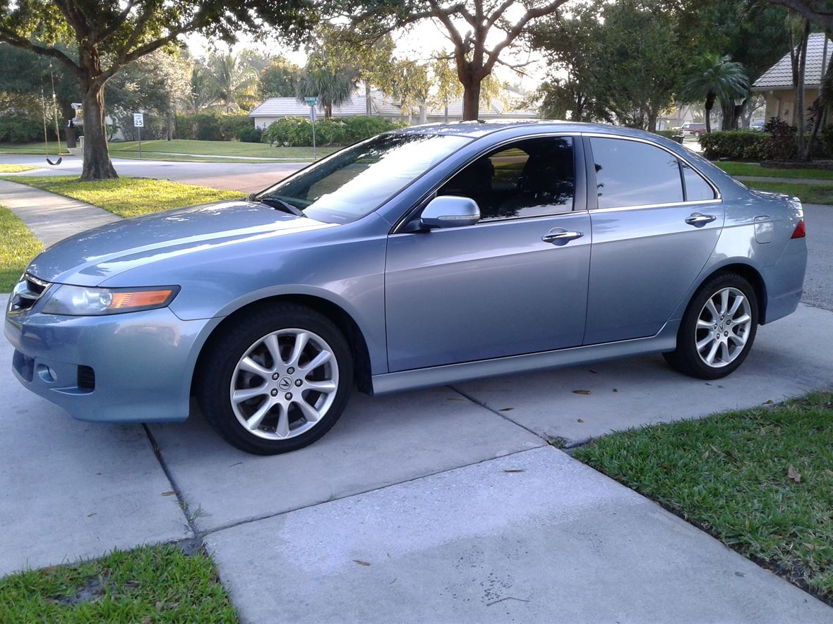 used 2007 acura tsx for sale by owner in delray beach fl 33484. Black Bedroom Furniture Sets. Home Design Ideas